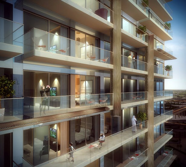 The Residences at Marina Gate, Dubai, by Aedas