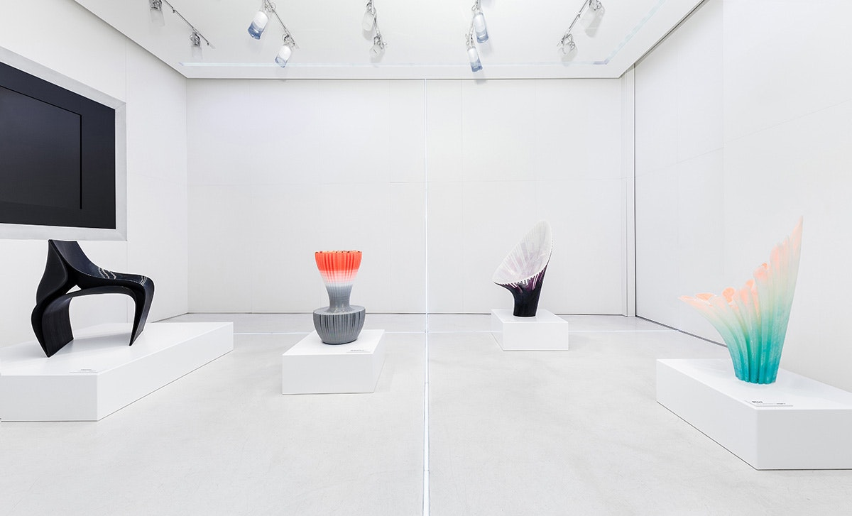 Zaha Hadid Architects Design 3D Printed Chairs For Nagamiu0027s Milan Debut