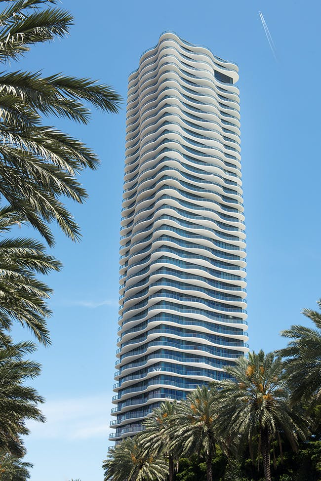 the 46-storey Regalia reaches a total height of 488 feet (nearly 150 meters) image by ken hayden