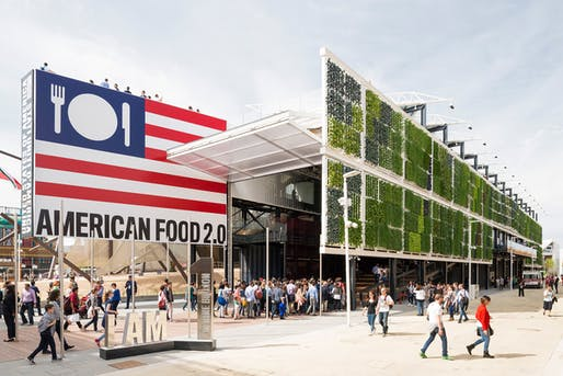 The U.S. Pavilion at the Milan Expo last year. Photo: Saverio Lombardi Vallauri.