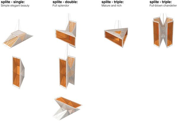 Splite Modular System Possibilities