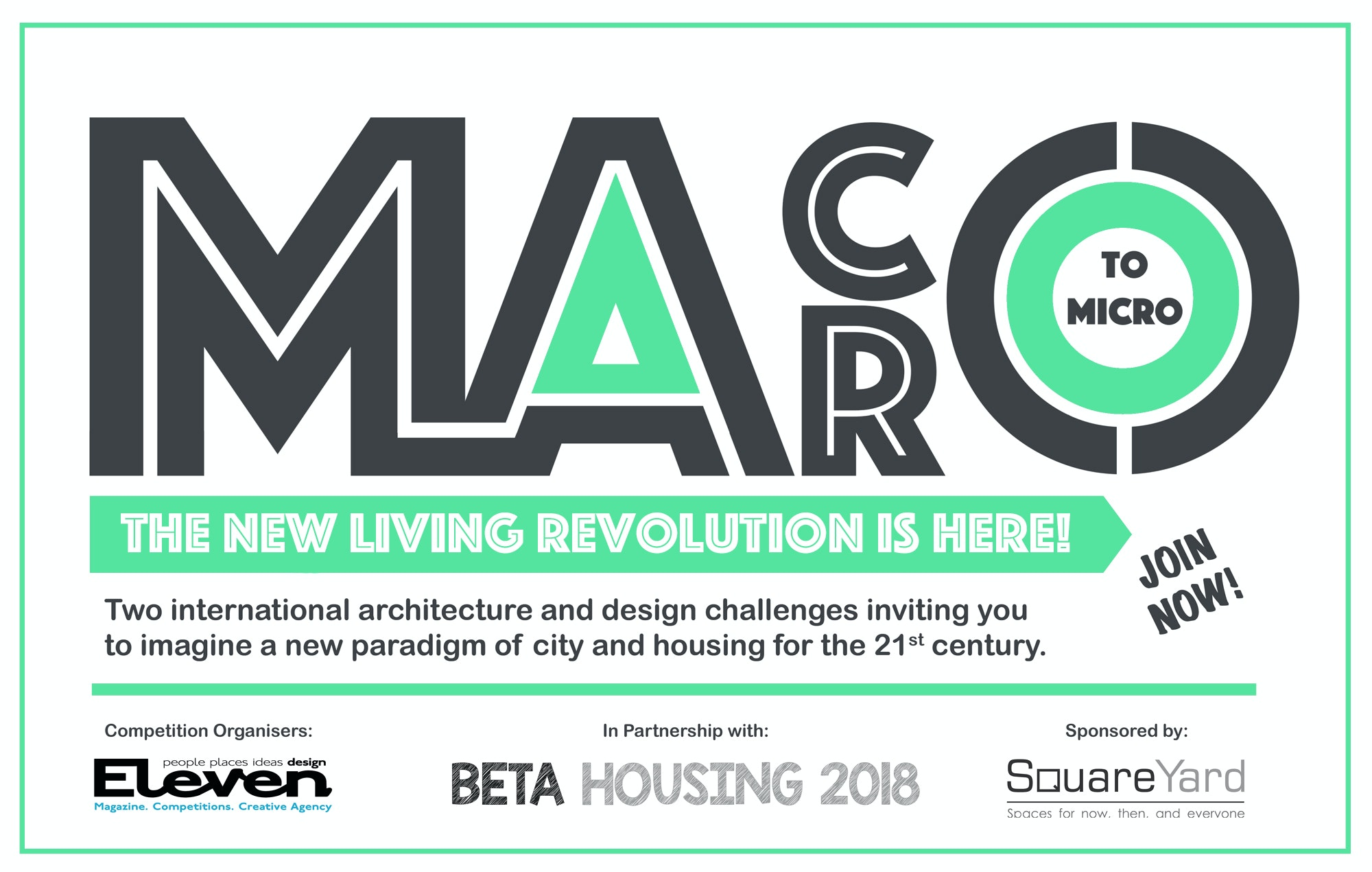 MACRO to MICRO: The Living Revolution is Here