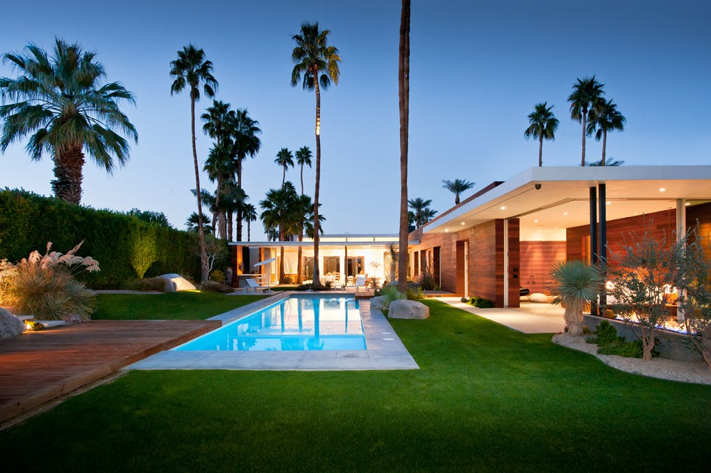 F 5 residence studio ar d architects archinect - Maison plain pied deco orientale palm springs ...