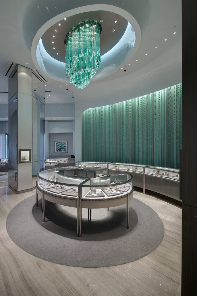 Tiffany co bellavita grade new york archinect for Jewelry stores in new york ny