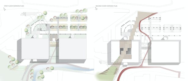 plans f the building