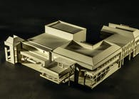 Norfolk State University Brown Hall Model