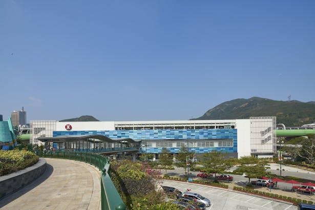 MTR Ocean Park Station, Hong Kong, by Aedas