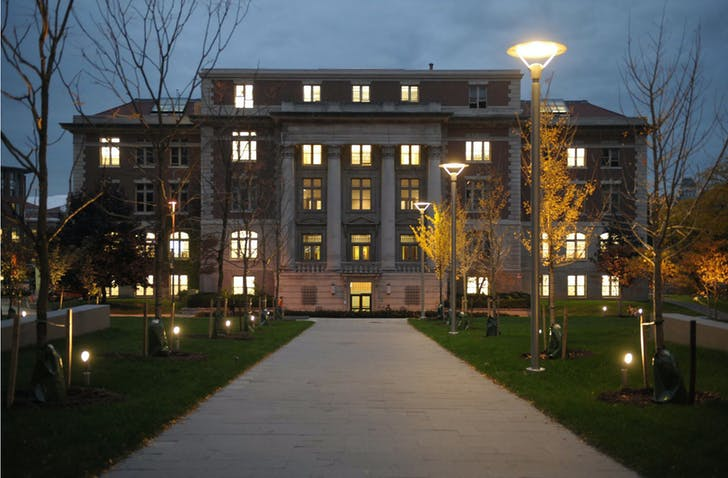 Slocum Hall on Syracuse's campus. Image courtesy of Syracuse Architecture.