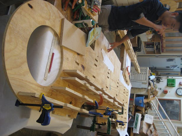 assembling exhibition arms