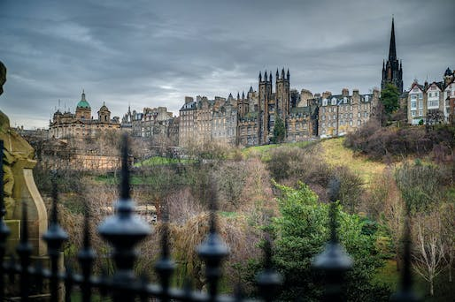 A view of the Royal Mile from West Princes Street Gardens. Photo © Malcolm Reading Consultants / David Springford.