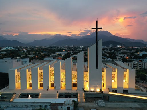 People's Choice Award winner: Windows for the Cathedral Saint Eccehomo of Valledupar, Colombia by artist Daniel Castillo. Image courtesy CODAawards.
