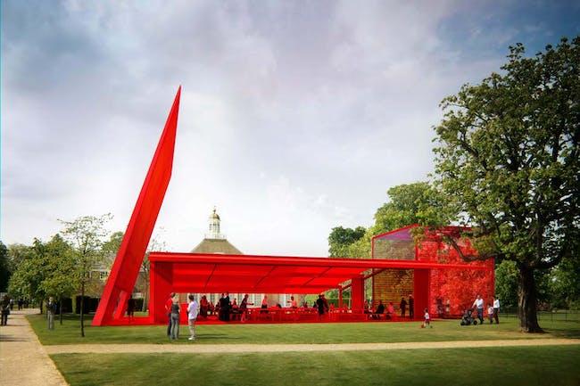 The 2010 Serpentine Pavilion by Jean Nouvel. Image © Ateliers Jean Nouvel
