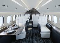 Falcon 7x Custom Interior