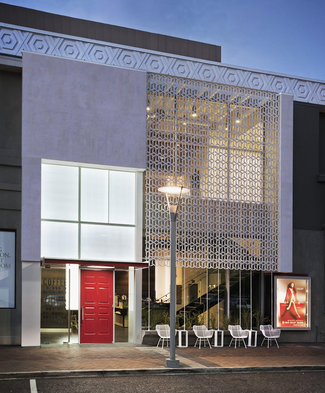 Red Door Spa Biltmore Fashion Park Cmda Design Bureau Inc