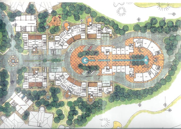 Master Plan For A Urban Design Golf Course Touristic Village And 5