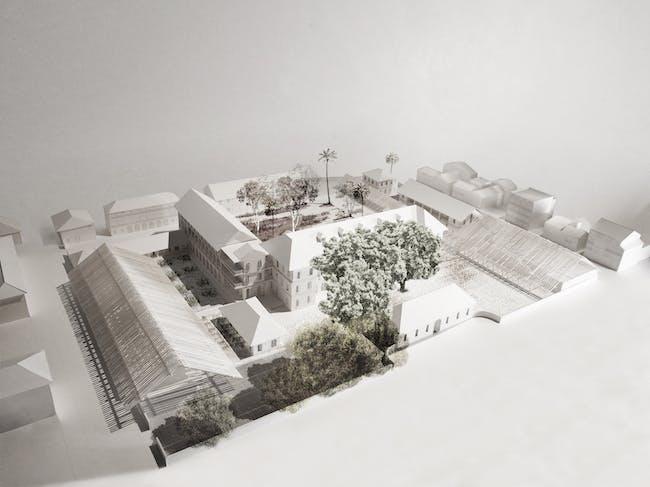 Moreau Kusunoki Cayenne museum project, © Artefactorylab / MKA