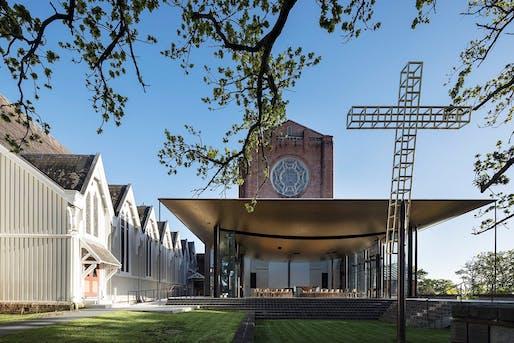Bishop Selwyn Chapel, Fearon Hay Architects. Photo: Patrick Reynolds.