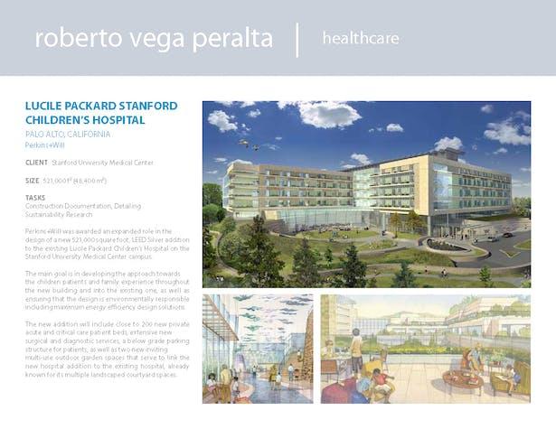 Lucile Packard Stanford Children's Hospital | Roberto Vega Peralta