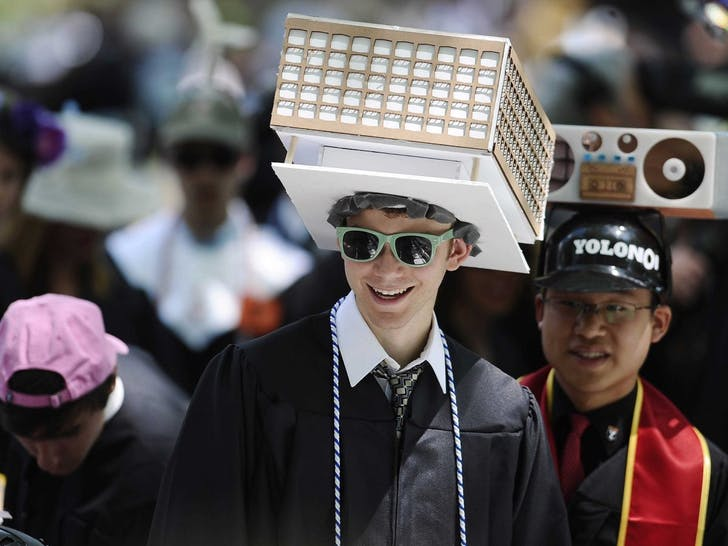 Graduation was one thing; employment negotiation requires the wearing of many hats. Image: businessinsider.com