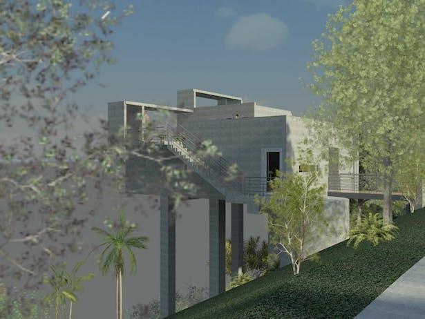 Proposed St. Thomas House Clifford O. Reid Architect