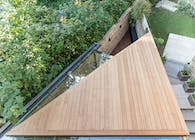 The Triangle – Backyard Study Extension in Hackney