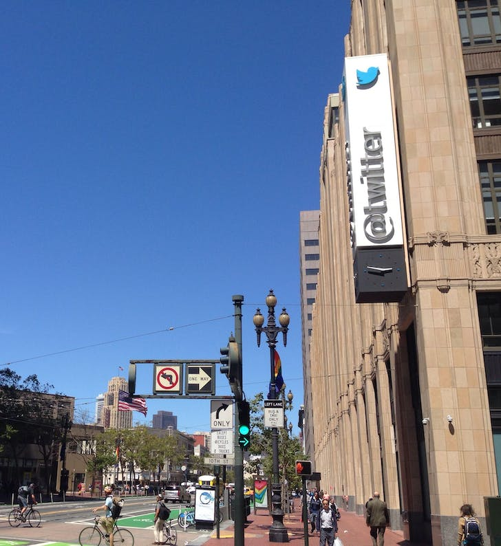 "Twitter HQ (photo credit: ""Twitter's San Francisco Headquarters' by MatthewKeys)"