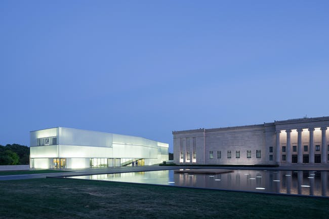 Nelson-Atkins Museum of Art. Photo by Iwan Baan.