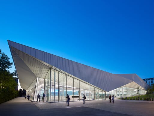 University of British Columbia Aquatic Centre, Vancouver, BC, MJMA and Acton Ostry Architects. Photo: Shai Gil