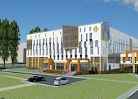 Oncological hospital in Penza.