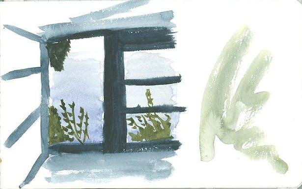 Part 1: moleskin drawing