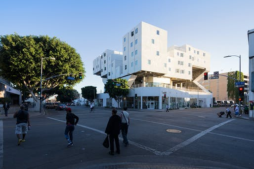 Buildings category winner: Star Apartments, Los Angeles, CA by Michael Maltzan Architecture. Photo: Iwan Baan.