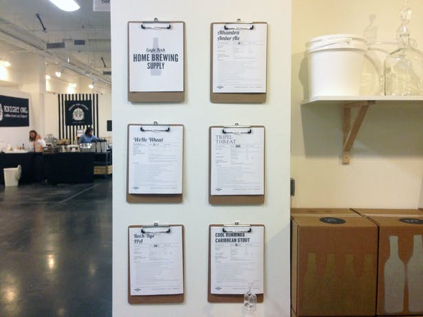 Recipe templates and display