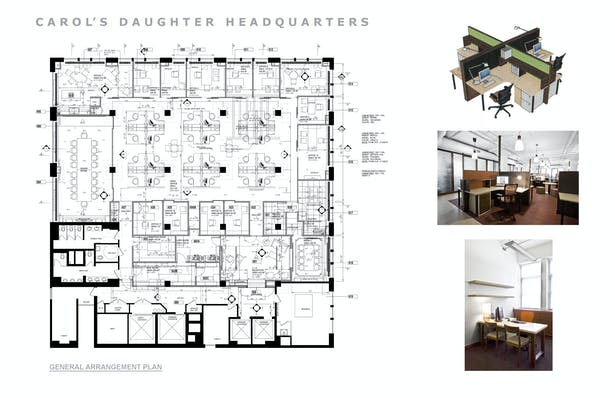 Furniture Plan and Open Plan Offices