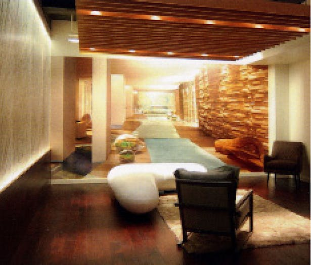 showroom to sell residences at 1 Hotel & Residences