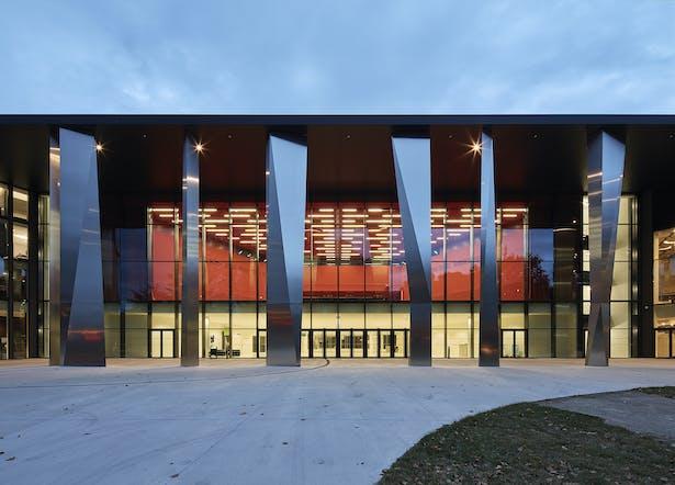 Palais de la Musique et des Congrès (PMC) Strasbourg – Main entrance