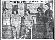 1971 Second Exhibit by Jaime F. Villacis