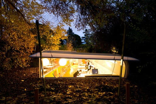 Office in the Woods in Madrid, Spain by SelgasCano, who will design the 15th Serpentine Pavilion in London. Photo © Iwan Baan