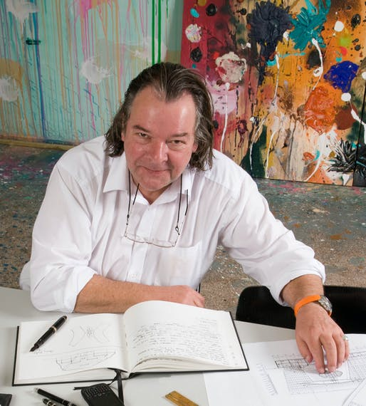 Will Alsop, 1947-2018. Photo: Malcolm Crowther.