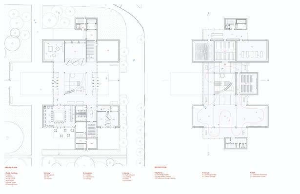 Ground Floor + Second Floor