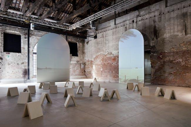 Milan architect Matilde Cassani's Background Bahrain, her design of the Bahrain Pavilion for the 2012 Venice Architecture Biennale. PHOTO: Courtesy Giovanna Silva.