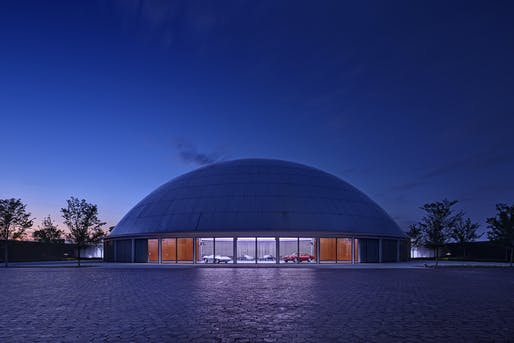 Commercial Design Award of Excellence​: General Motors Design Dome and Auditorium. Photo: James Haefner Photography.