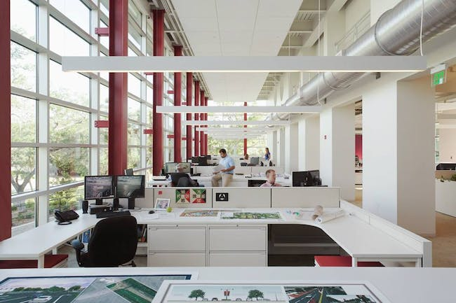 Kimley Horn & Associates, corporate strategic facility plan by Cooper Carry. Image © Cooper Carry