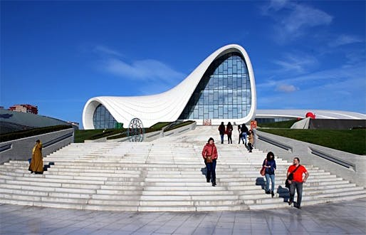The Heydar Aliyev Center in Azerbaijan's capital of Baku has earned worldwide recognition for its Zaha Hadid design — as well as outrage about reported human rights violations. Calvert Journal writer Anya Filippova calls it 'the most celebrated piece of modern architecture in the post-Soviet...
