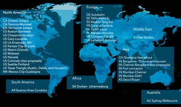 Hyperloop One announces 35 semifinalists in 17 countries for its global challenge