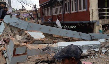Another powerful earthquake has hit Nepal