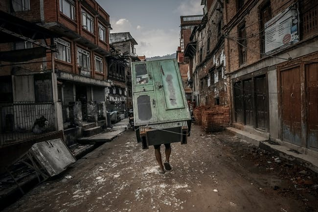 EMERGING TALENT - JURY WINNER: Turjoy Chowdhury - 'Nepal Quake Aftermath'