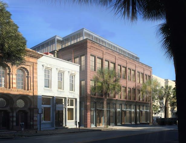 Bay St. facade