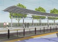 South Sacramento Light Rail Corridor Phase 2 - 3 Stations