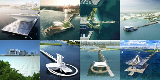 The 8 finalists of the new New St. Pete Pier competition