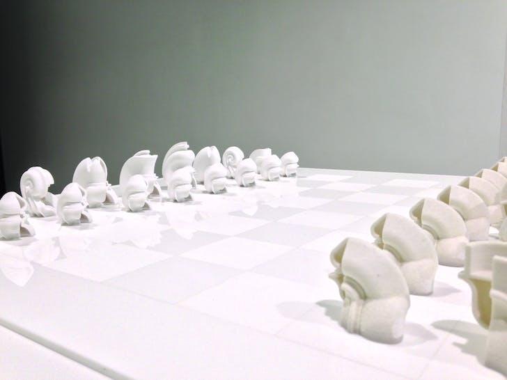Maxi Spina's piece, photo credit: Amelia Taylor-Hochberg.